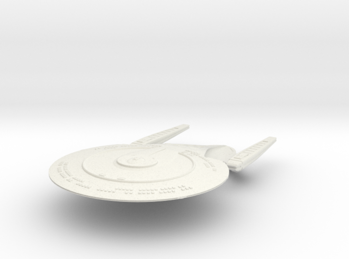 "Andromeda Class Exploration Cruiser 5.6"" 3d printed"