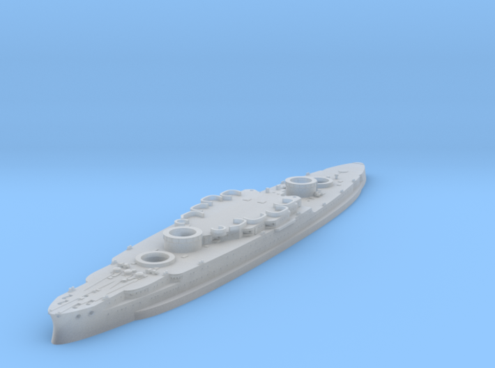 1/1200 USS Arizona Hull 3d printed