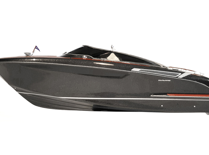 "1/87 RIVA ""Rivamare"" Luxury Yacht - PART 1 3d printed"