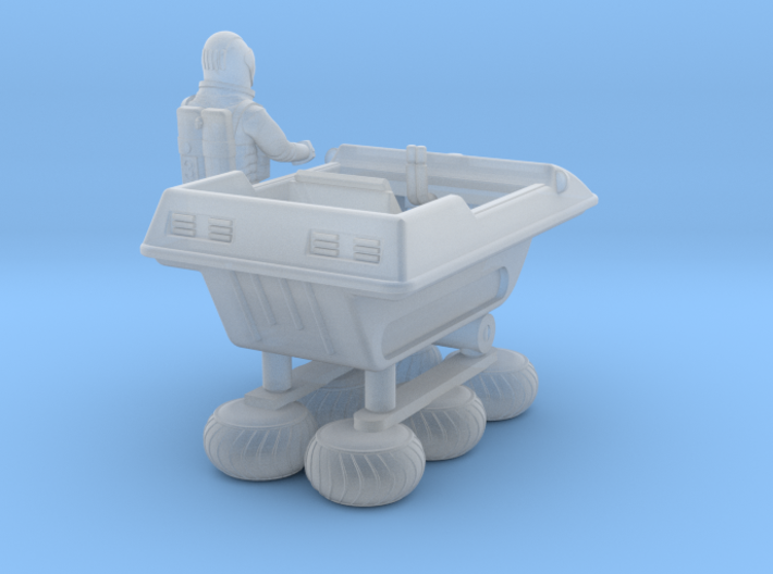 SPACE 2999 1/93 BUGGY W ASTRONAUT 3d printed