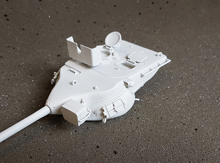 1/35 Scale T57 Turret-Main 3d printed