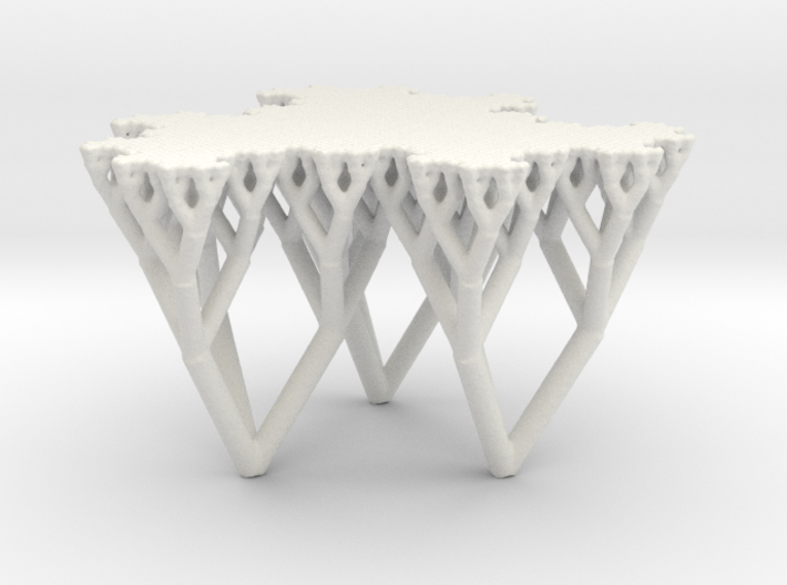 The Fludgeflake Table 3d printed