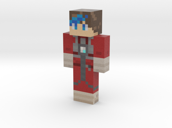 Skwirel_LeBleu | Minecraft toy 3d printed