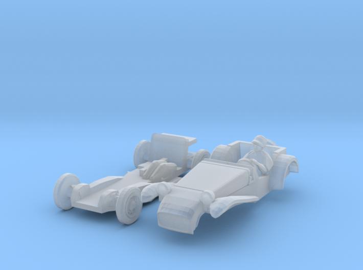 Lotus Seven (N 1:160) 3d printed