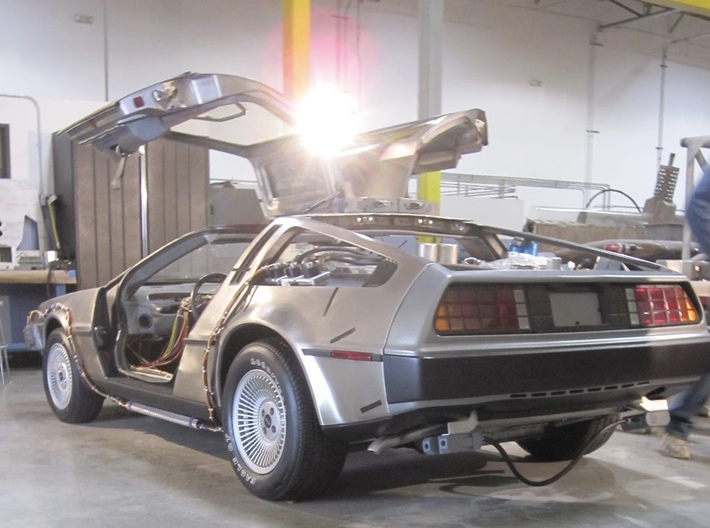 1 8 Bttf Delorean Exhaust Pipes B2t8yatny By Bluevoice
