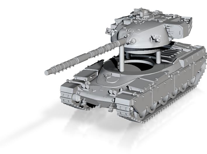 Main Battle Tank Chieftain MK6 Scale: 1:285 3d printed