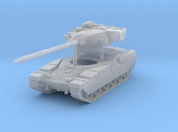 Main Battle Tank Chieftain MK6 Scale: 1:144 3d printed