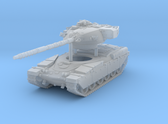 Main Battle Tank Chieftain MK6 Scale: 1:200 3d printed
