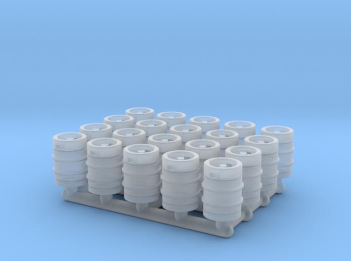 Beer Barrel. 1:72 Scale 3d printed