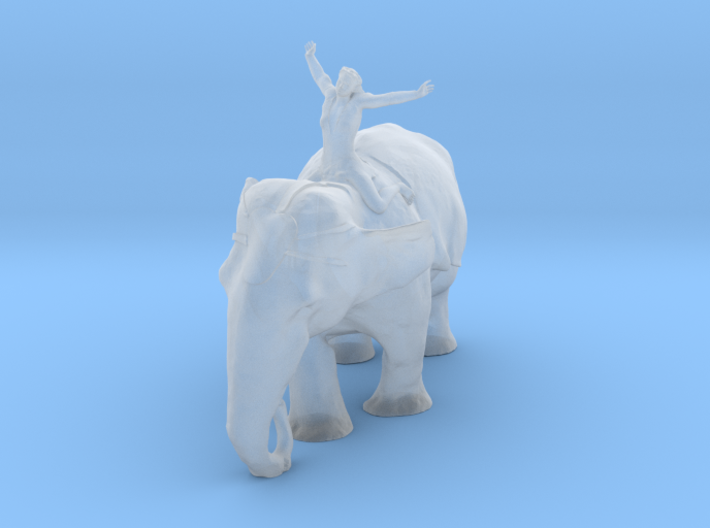 Printle Thing Elephant Parade - 1/43 3d printed