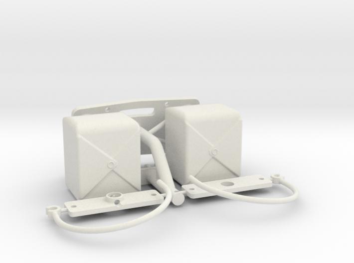 PM026-RC Pro Mod Dual Parachute Set 3d printed