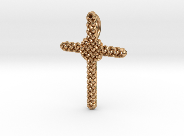 Celtic Cross Pendant - Christian Jewelry 3d printed