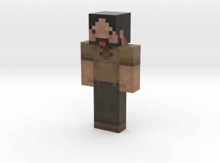 zelvac | Minecraft toy 3d printed