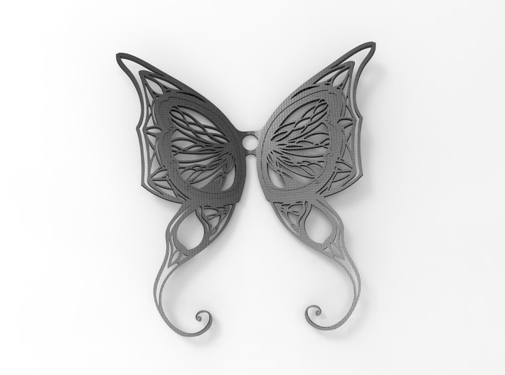 Butterfly Wings Pendant 3d printed