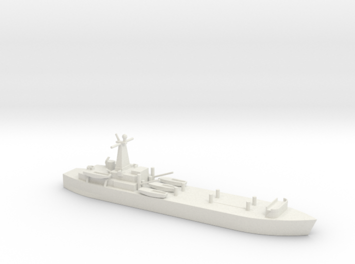 1/700 Scale British LST-3 3d printed