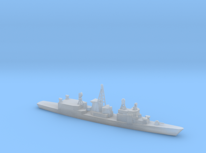 1/1800 Scale German Frigate Bremen F207 Class 3d printed