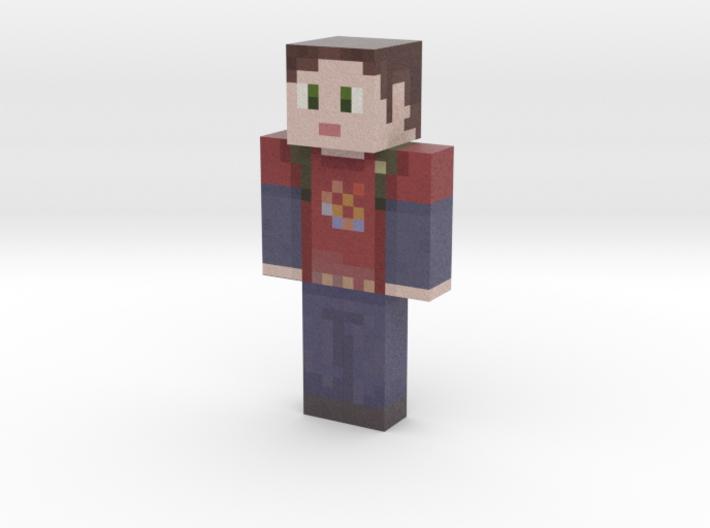 Ellie | Minecraft toy 3d printed