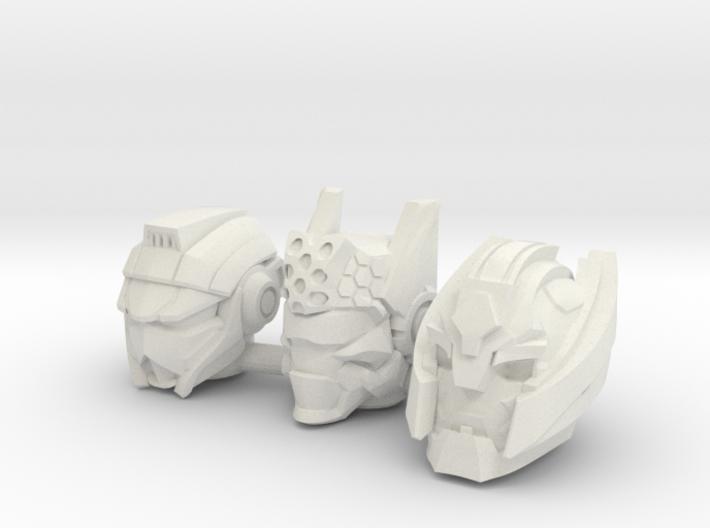 Universe Head 3-Pack (4mm) 3d printed