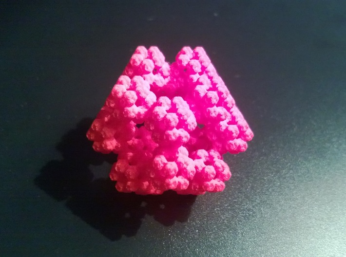 Fractal Dodecahedron 3d printed