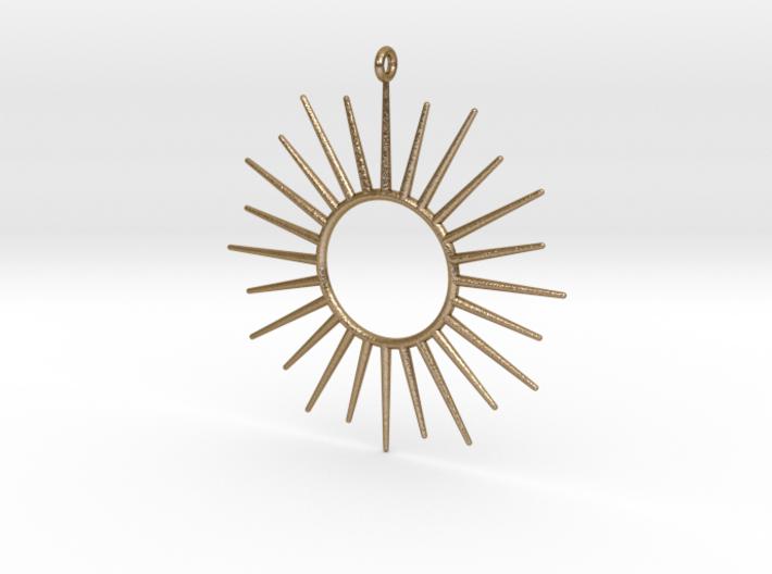 Sun Pendant 3d printed Sun Pendant