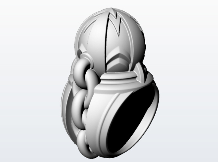 Wrecking Ball_size 12 3d printed
