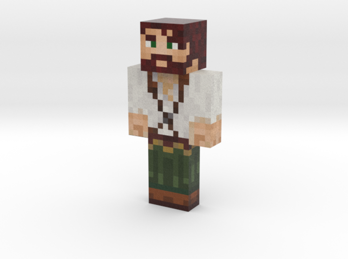 Merlinoux | Minecraft toy 3d printed
