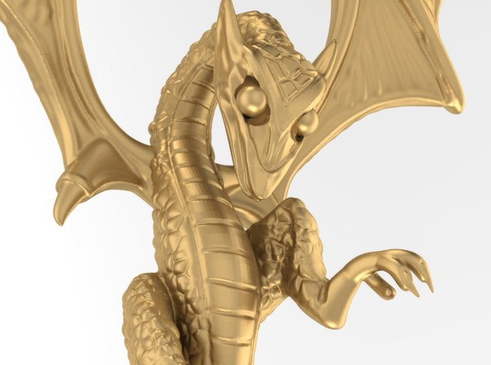 Dragon pendant # 6 3d printed Add a caption...