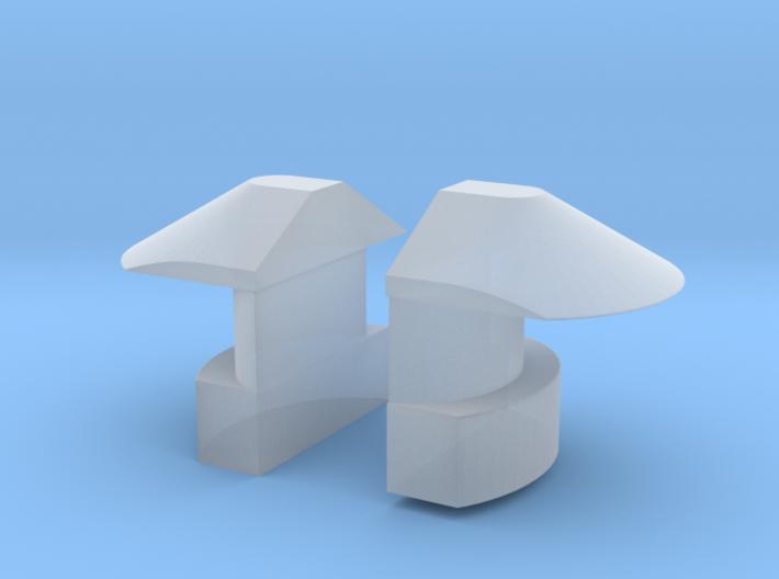 1/35 DKM UBoot VIIC Navigation light SET x2 3d printed