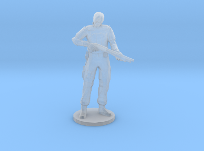 Resident Evil Leon 1/60 miniature for games rpg 3d printed