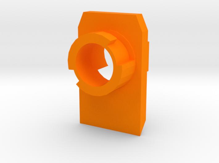 Modulus Barrel Adapter for FlipFury 3d printed
