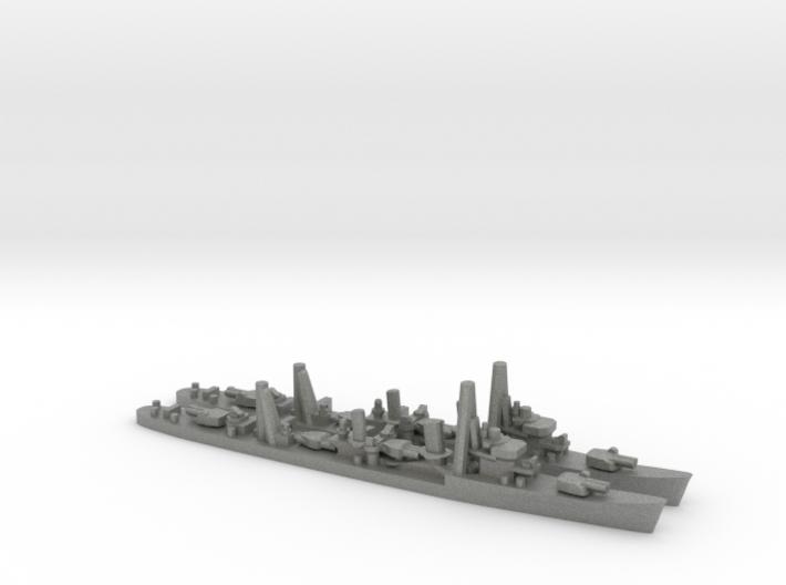 Japanese Hatsuharu-class Destroyer (x2) 3d printed
