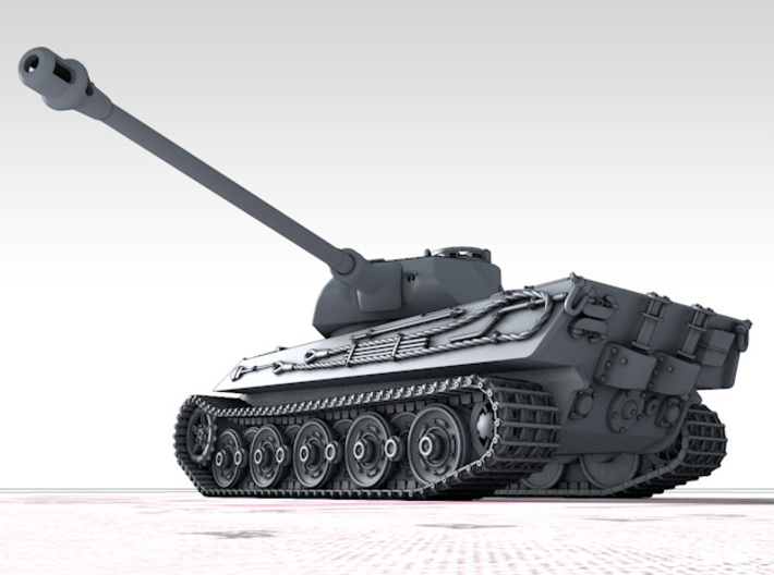 1/72 German VK 45.03 (H) Heavy Tank 3d printed 3d render showing product detail
