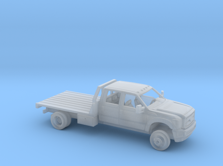 1/160 2011-16 Ford F Series Crew Cab Flatbed Kit 3d printed