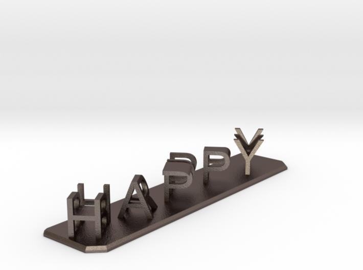 Happy Birthday 3d printed