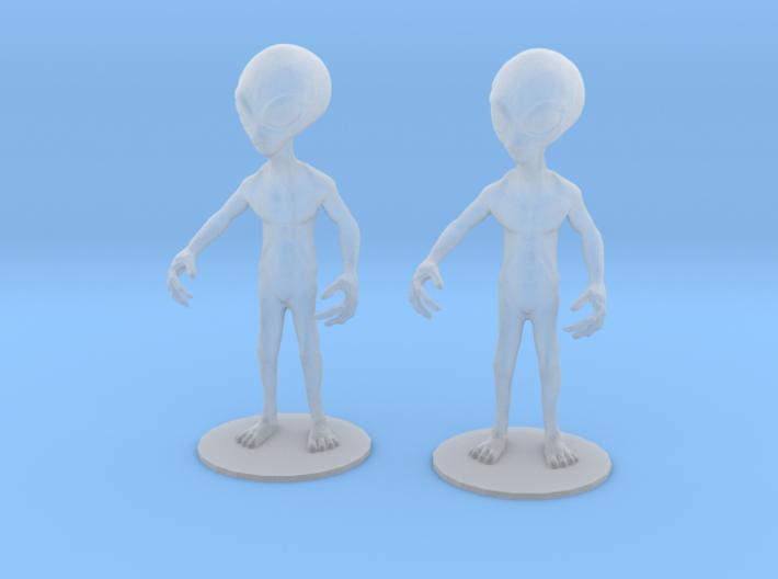 Alien Classic Set 3d printed