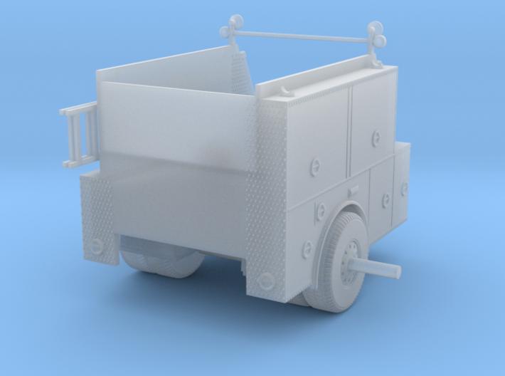 1/87 LA Engine Body Compartment Doors 3d printed