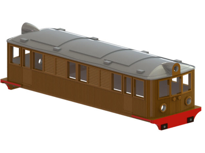 Swedish SJ electric locomotive type Od - N-scale 3d printed CAD-model