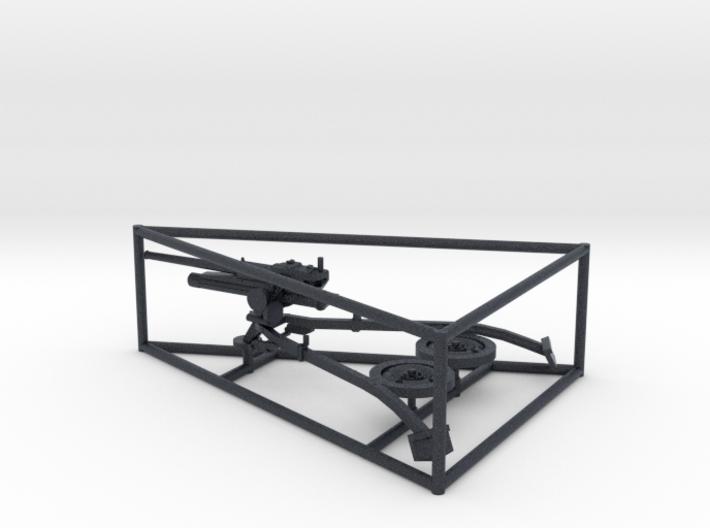 1/56 Breda 47mm 32 caliber anti-tank gun 3d printed