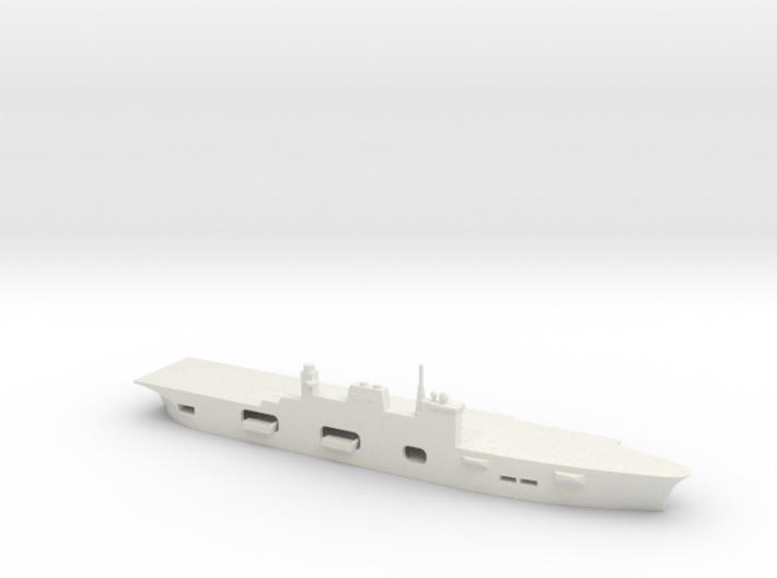 1/1800 Scale HMS Ocean Class 3d printed