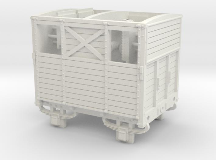 SER/LBSCR Horse Box Dia. 19B - OO Scale 3d printed