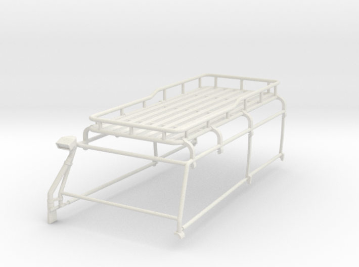 Orlandoo D110 Roof rack W/ Half cage and snorkel 3d printed