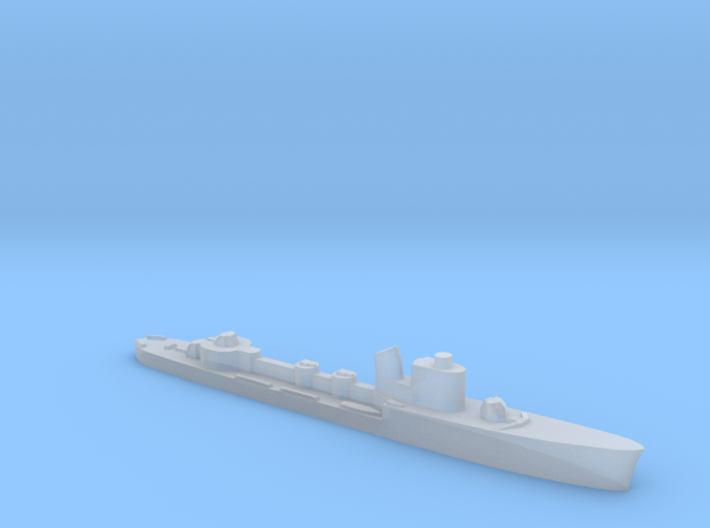 Italian Spica class WW2 torpedo boat 1:1800 3d printed