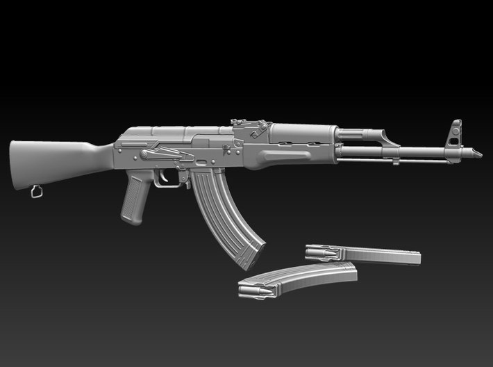 AKM 1/6 scale - UPDATED VERSION 3d printed DOES NOT COME WITH ADDITIONAL MAGAZINE!