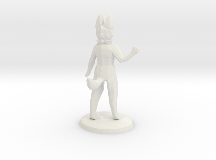 Anthro Wave With Base 3d printed