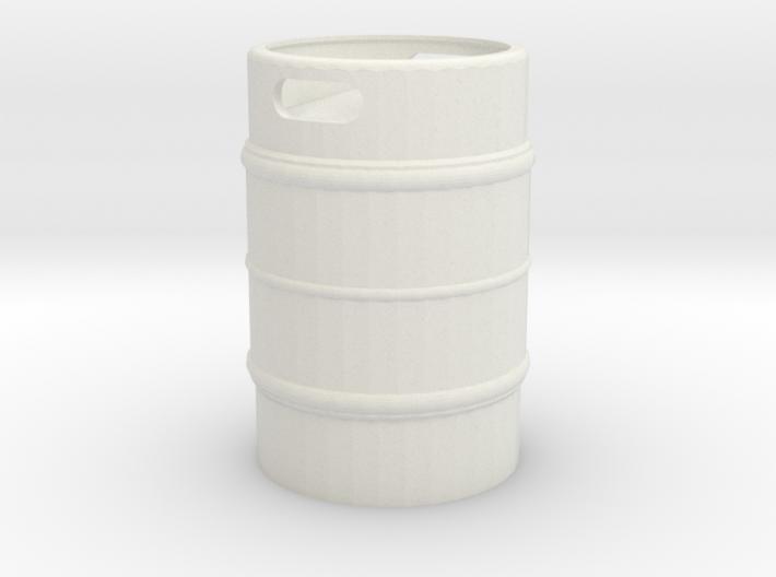 Beer Keg 1/24 3d printed