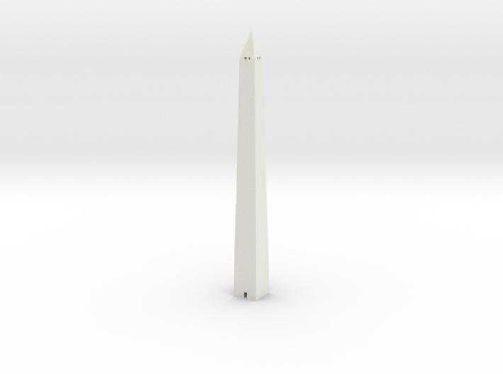 Washington Monument 1/1000 3d printed