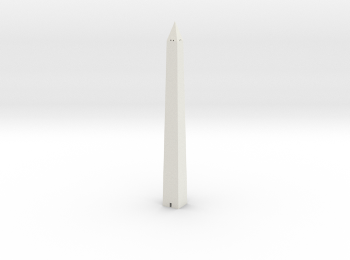 Washington Monument 1/1200 3d printed