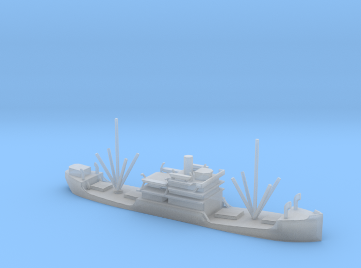 1/1800 Scale 3500 ton Cargo Steamer Quinneseco 3d printed