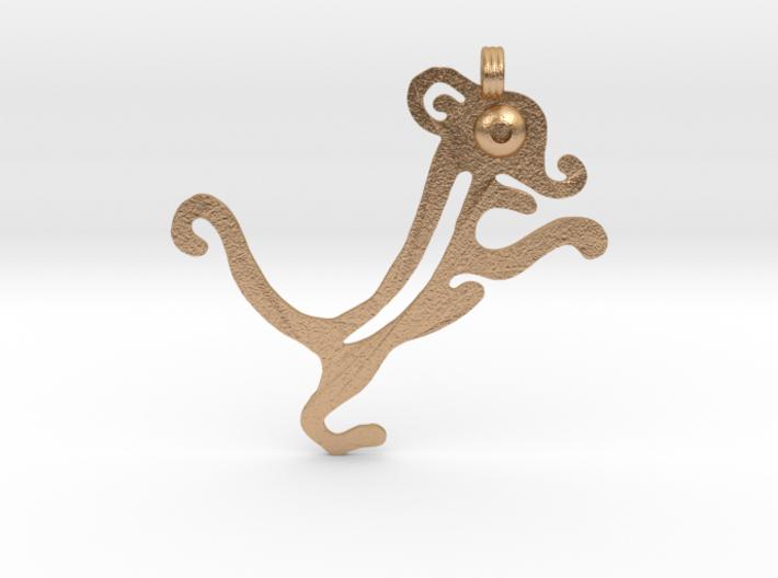 Animal Pendant 3d printed