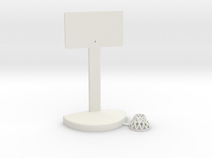Printle Thing Baskethoop 02 - 1/24 3d printed